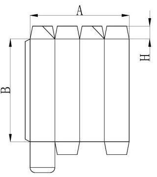 1600 Automatic High-Speed 4 or 6 corner Folder Gluer