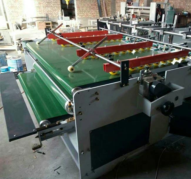ZH-BZD Semi-Automatic Pressing type Gluer