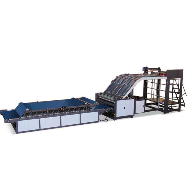 ZH-HII Semi-Automatic Flute Laminator LIFT MODEL